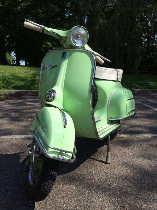 1966 Vespa 150 Super Fully Restored  U2013 Now Sold