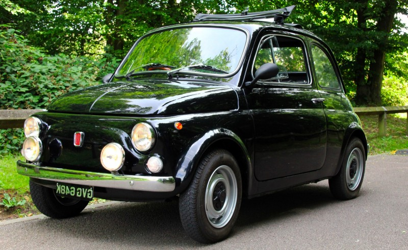 1972 Classic Fiat 500 U2013 NOW SOLD